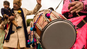 Image of a Best Available Dhol Player - Baraat
