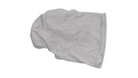 Image of a 3 Way 90 Degree White Corner Cover