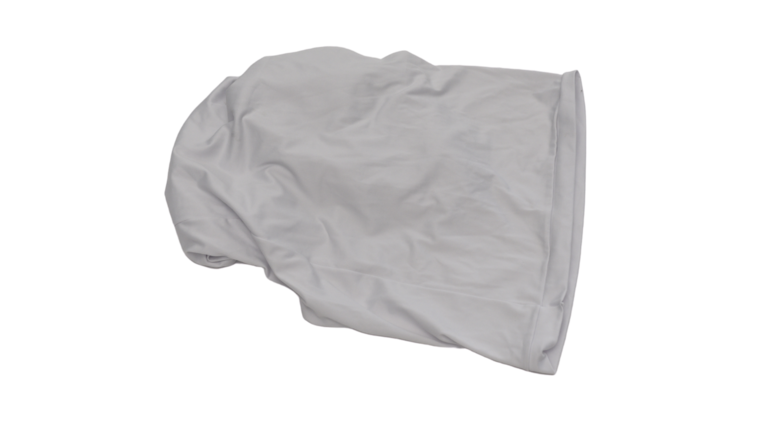 Picture of a 3 Way 90 Degree White Corner Cover
