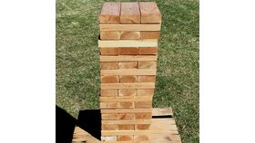 Image of a Jumbo Jenga Blocks