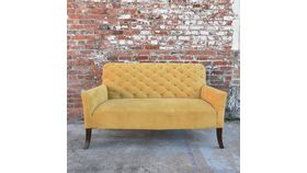 "Image of a ""Marigold"" Yellow Settee"