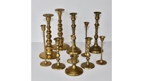 Image of a Brass Candlestick