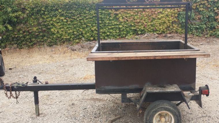 Picture of a 4x4 BBQ Tow