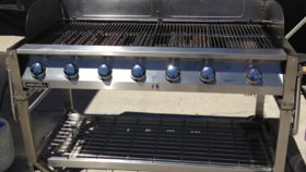 Image of a 2X6 BBQ