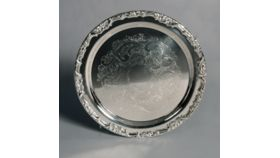 "Image of a 13"" Silver Tray"