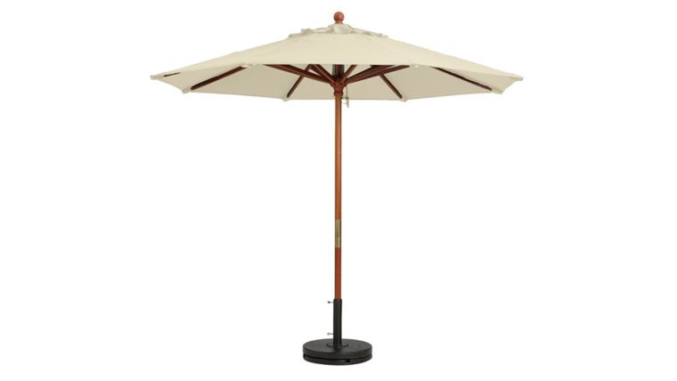 Picture of a 9' Ivory Market Umbrella