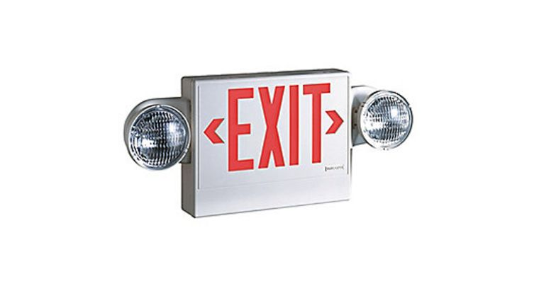 Picture of a Exit Sign