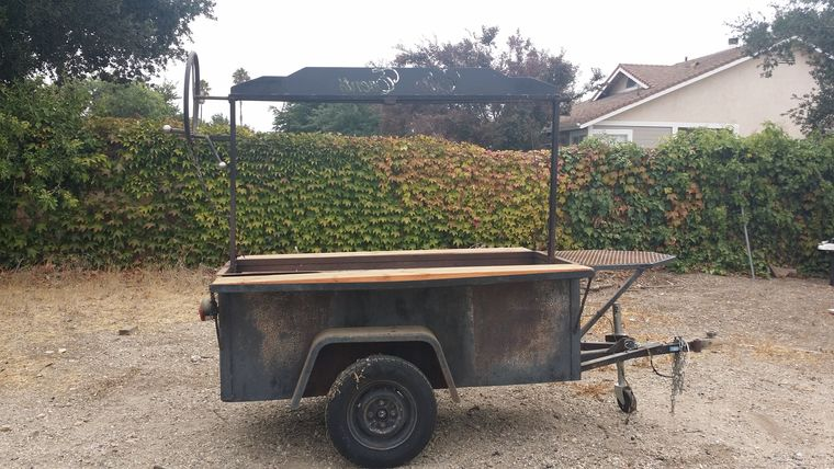 Picture of a 3x6 BBQ Tow