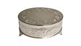 """Image of a Cake Stand - Casa Cortes Round Wedding Cake Stand - 6"""""""