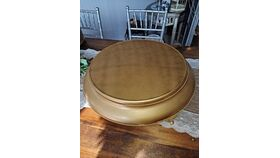 """Image of a Cake Stand   Gold Round Wedding Cake Stand - 17"""""""