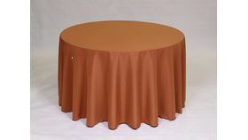 "Image of a 20"" 20"" Polyester Copper Napkins"