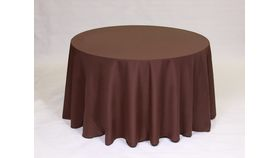 "Image of a 20"" 20"" Polyester Chocolate Napkins"
