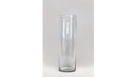 "Image of a 12"" Glass Cylinder Vase"