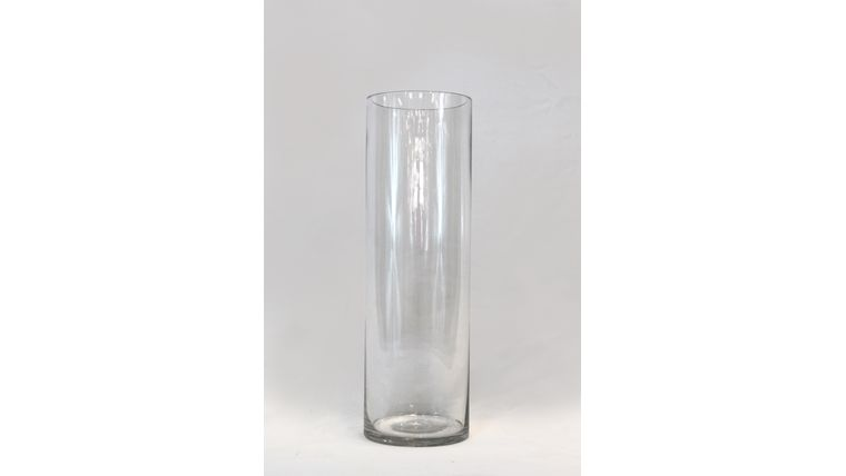 "Picture of a 12"" Glass Cylinder Vase"