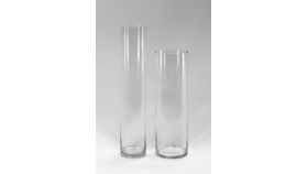"Image of a 20"" Glass Cylinder Vase"
