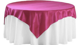 Image of a Fuschia Table Overlays