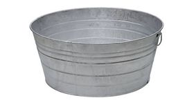 Image of a Galvanized Tub