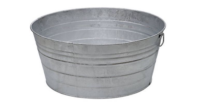 Picture of a Galvanized Tub