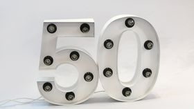 Image of a 50 Light Up Numbers