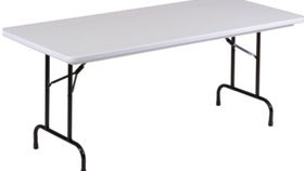 Image of a 8 ft. Plastic Rectangle Table