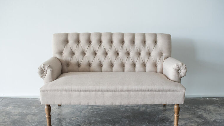 Picture of a Knoll Settee