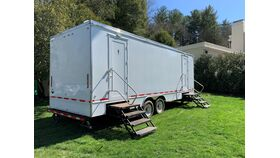 Image of a 8 Stall Restroom Trailer