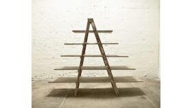 Image of a Vintage Ladder Shelf