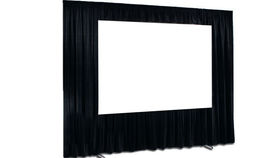 Image of a 7' x 10'  | Fast Fold Screen & Black Dress Kit