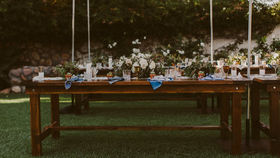 Image of a Full Size Farm Table