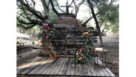 Image of a Hexagon Ceremony Arch