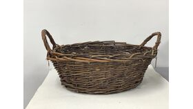 Image of a 14 in Basket Willow Bowl Shape 7in deep