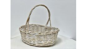 Image of a 12 in Basket with handle