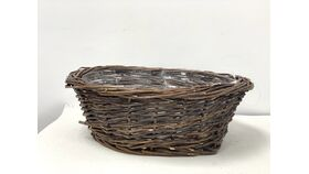 Image of a 14 in  Basket Willow bowl shape no handle