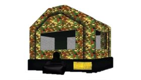 Image of a Military Bounce House