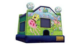 Image of a Spongebob Bounce House