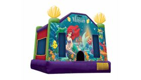 Image of a Little Mermaid Bounce House