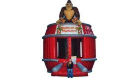 Image of a Monkey Bounce House