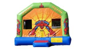 Image of a Spiderman Bounce House