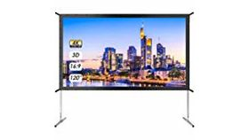 "Image of a Movie Screen - 180"" Large"
