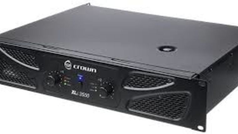 Picture of a Speaker Amplifier, 3500W Crown