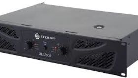 Image of a Speaker Amplifier, 1500W Crown