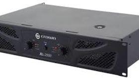 Image of a Speaker Amplifier, 1500W Crown