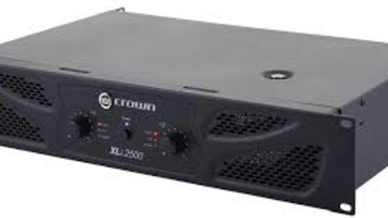 Picture of a Speaker Amplifier, 1500W Crown