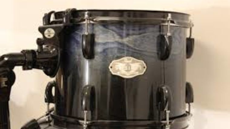 """Picture of a Drum, Pearl Rack Tom drum, 10"""""""