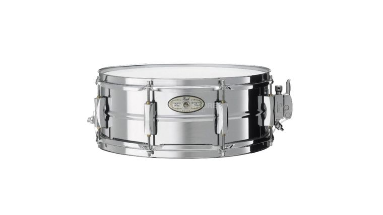 """Picture of a Drum, Pearl Snare drum, 14"""" Steel"""