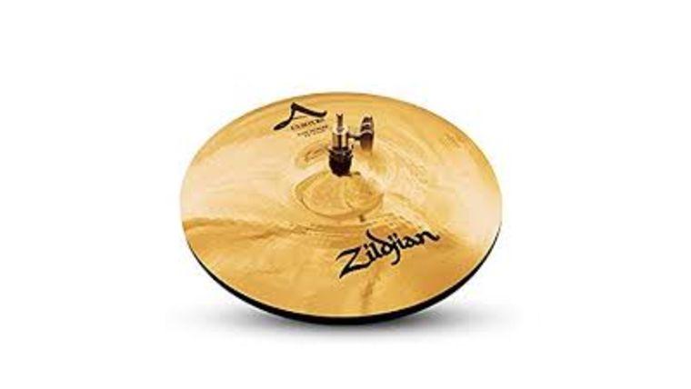 "Picture of a Cymbal, Zildjan Custom A, 14"" Hi Hat"