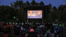 Image of a Projector, Movies in the Park Kit