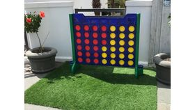Image of a Giant Connect Four Body