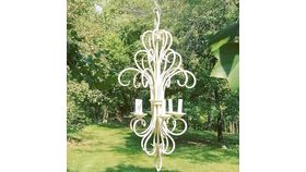 Image of a Cream Chandelier