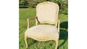 Image of a Cream Armchair